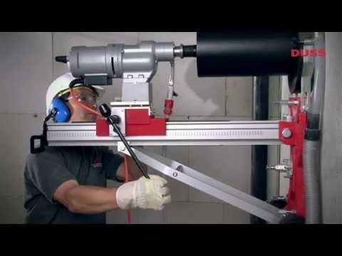 DIA 400 W · Leistungsstarkes Kernbohren · DUSS Diamantbohrmaschine