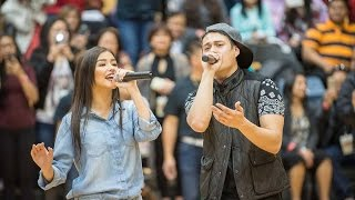Star Magic All Star Basketball - Enrique Gil&Liza Soberano