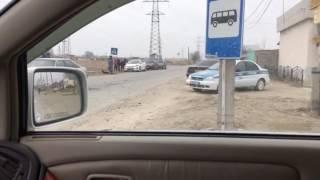 авария в таразе массив Арай ул.Айша биби 08.01.2017