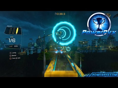Ratchet & Clank 2016 - Faster than a Speeding Amoeboid Trophy Guide (Rilgar Hoverboard Race)