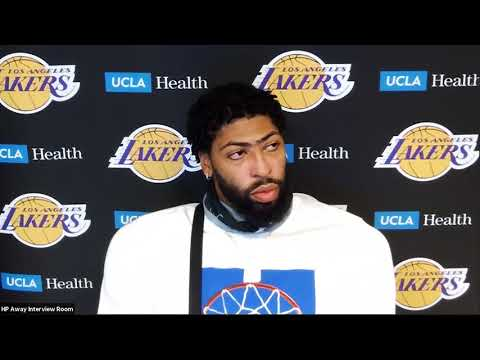 Anthony Davis Postgame Interview | Lakers vs Pacers | August 8, 2020
