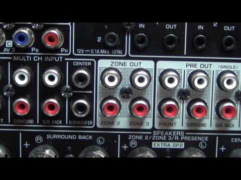 How to connect a surround sound receiver - Part 3