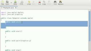 Java Applet Life Cycle (Hindi)
