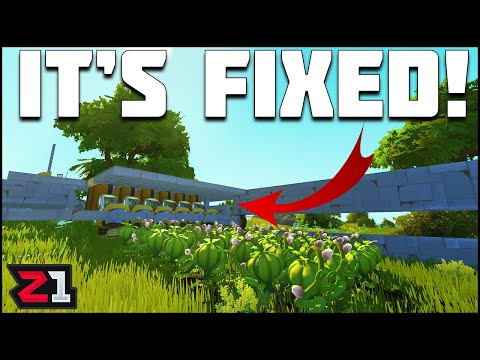 Fixed the FARM and Better Than EVER ! Scrap Mechanic Survival Ep. 33   Z1 Gaming