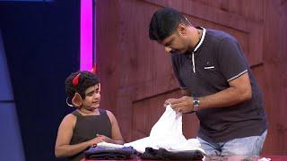 Kusruthi Kudumbam   Funny task for Promy   Mazhavil Manorama