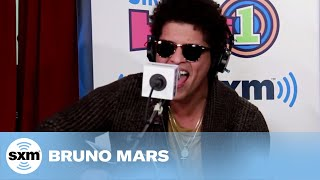 """Bruno Mars   """"Locked Out Of Heaven"""" [Live @ SiriusXM]"""