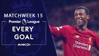 Every goal from Matchweek 15 in the Premier League   NBC Sports