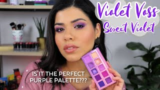 VIOLET VOSS SWEET VIOLET PALETTE | TUTORIAL, REVIEW + SWATCHES