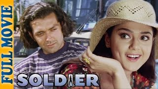 Soldier {HD}  Bobby Deol  Preity Zinta  Raakhee  Suresh Oberoi  Romantic Comedy Movie