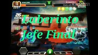 Laberinto-El Maestro-Jefe Final/Marvel Batalla de Superheroes