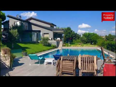 Fantastic sea view private villa in Beylikduzu