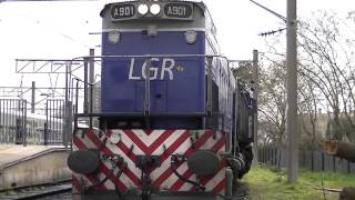 preview picture of video 'LINEA GRAL ROCA EN TEMPERLEY'