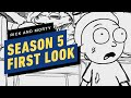 Rick and Morty Season 5 First Look and Season 6 Details Revealed | Comic Con 2020
