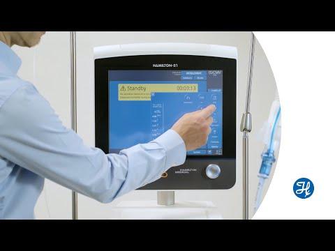 HAMILTON-G5/S1: Start ventilation