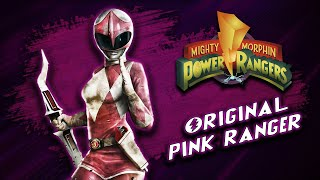 What Happened To The Original PINK POWER RANGER Kimberly After She Left?   Power Rangers Lore