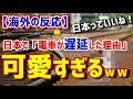 【海外の反応】日本で「電車が遅延した理由」が可愛すぎるwww タイ人の反応