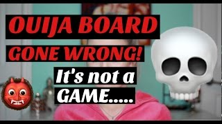 OUIJA BOARD GONE WRONG! | Paranormal Storytime....