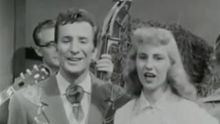 Cathy Copas and Ferlin Husky - Hey Good Lookin' (1950s)