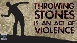 "HonestReporting Video: Throwing Stones is Not ""Non-Violent"""