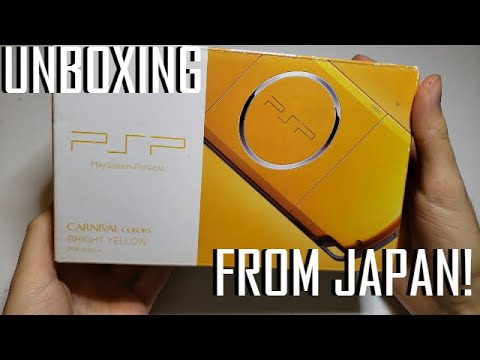 Gold PSP 3000 from Japan!