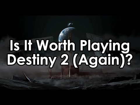 Is It Worth Playing Destiny 2 (Again?) Should You Wait Until Shadowkeep?