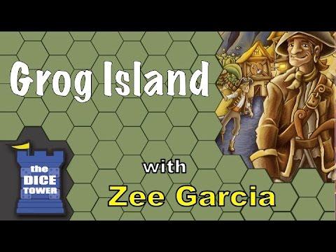 Grog Island Review - with Zee Garcia
