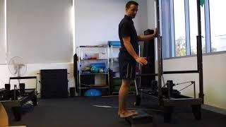 CALF RAISES - with Physiotherapist, Michael Hasson