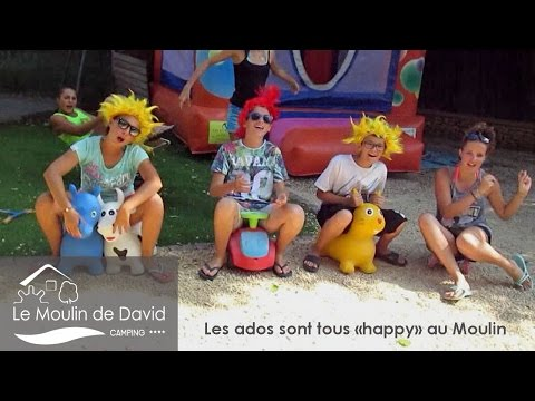 """Tous les ados sont """"Happy"""" au camping Le Moulin de David (Dordogne)"""
