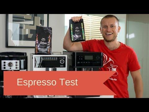 Espresso Test im Vollautomat: Supermarkt oder Rösterei?
