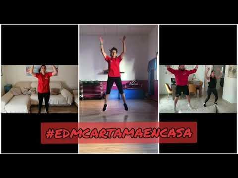 EDMCARTAMAENCASA coreografía monitores de Deportes coronavirus 090420