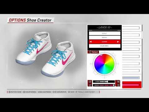 Nba 2k18 scarpe Creator Kobe Ad Mid Passion