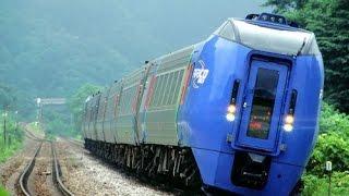 Как поворачивает поезд