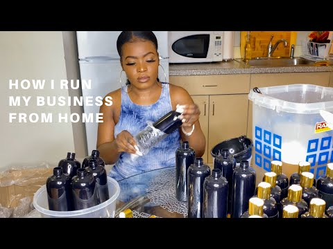 , title : 'How I run my hair product business from home