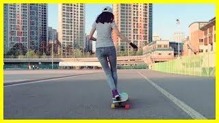 Original Cute Korean Longboarding Girl Video That Made Ko Hyo Joo Famous