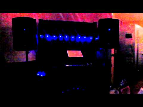 DJ JARED MICHAEL CHAUVETTE MOTION FACADE LED LIGHT SHOW