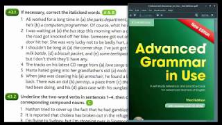 Advanced Grammar in Use   Unit 43-3   compound words