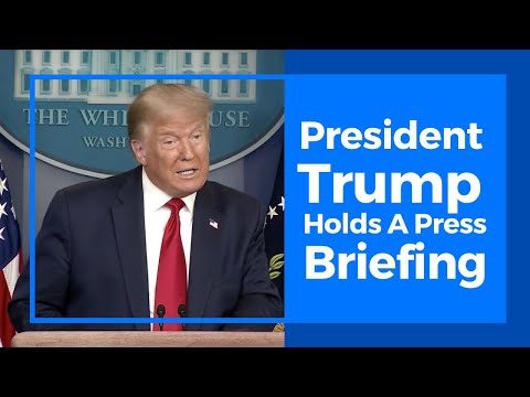 President Trump Holds A Press Conference: COVID-19, Mail-In Ballots