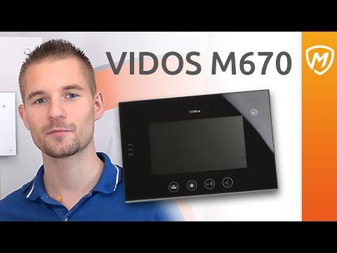 Zalety wideodomofonu VIDOS M670 - zdjęcie