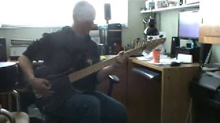 April Wine 'Get Ready For Love' (Bass guitar cover)