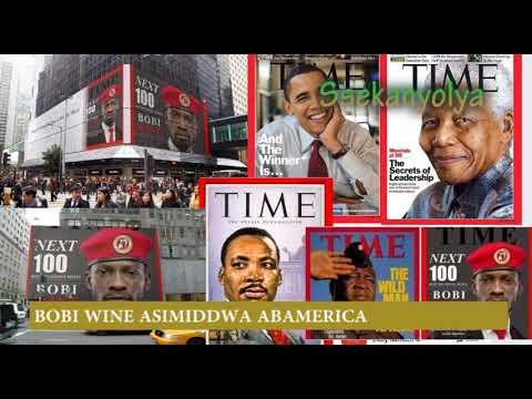 AMERICA ESIIMYE BOBI WINE NEBAMUTIMBA KU STREET ZABWE NE OBAMA TIME NEXT 100