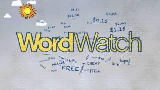 WordWatch AdWords video