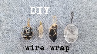 DIY Wire Wrap Gemstones Without Holes
