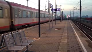 preview picture of video 'ÖBB Intercity - Abfahrt Bahnhof Tullnerfeld'