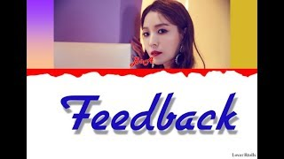 BoA(보아)   Feedback (Feat. Nucksal) Lyrics [Color Coded_Han_Rom_Eng]