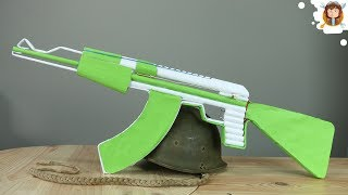 <b>How To Make A Fully Automatic Paper Ak 47 That Shoots</b>