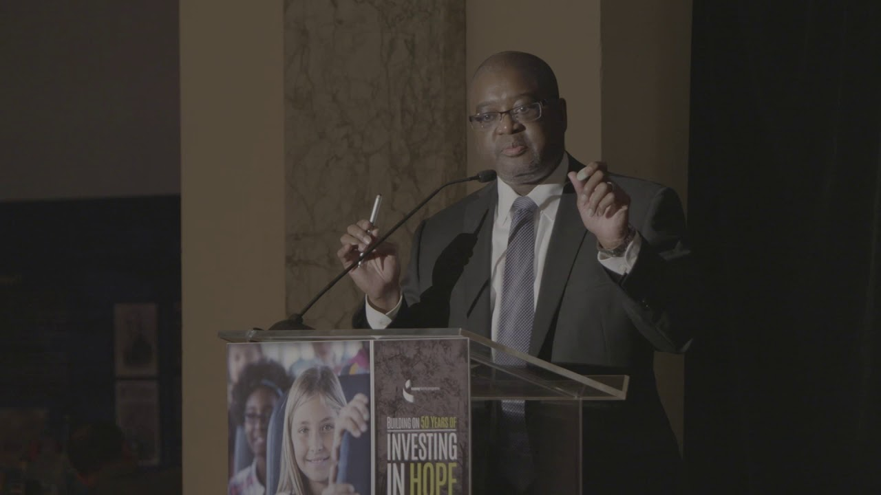 Investing in Hope dinner - closing remarks
