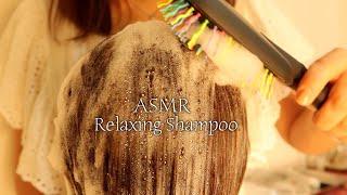 ASMR Relaxing Shampoo and Hair Wash | Shampoo Brushing | No talking | Binaural