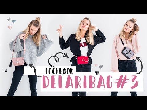 Delaribag#3 - Lookbook - Tasche wird zur Bauchtasche - Trend 2018 // delari