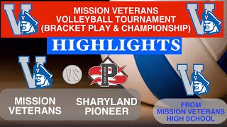 Mission Vets VS Sharyland Pioneer Mission Tournament Semi Finals Highlights