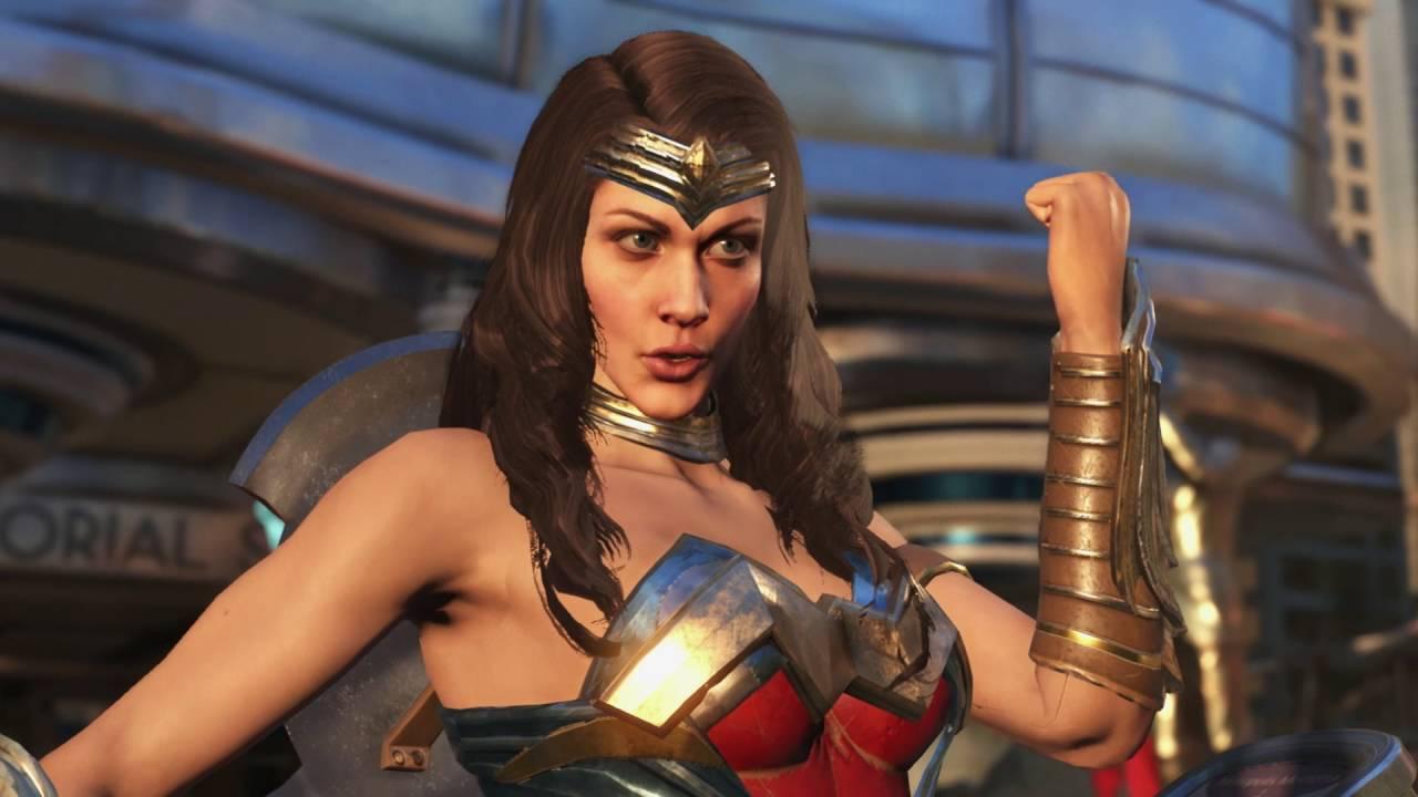Wonder Woman und Blue Beetle sind Teil der Charakter-Auswahl von Injustice 2